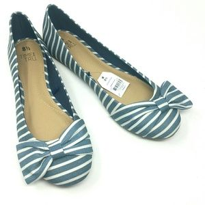 Time and Tru Bow Flats